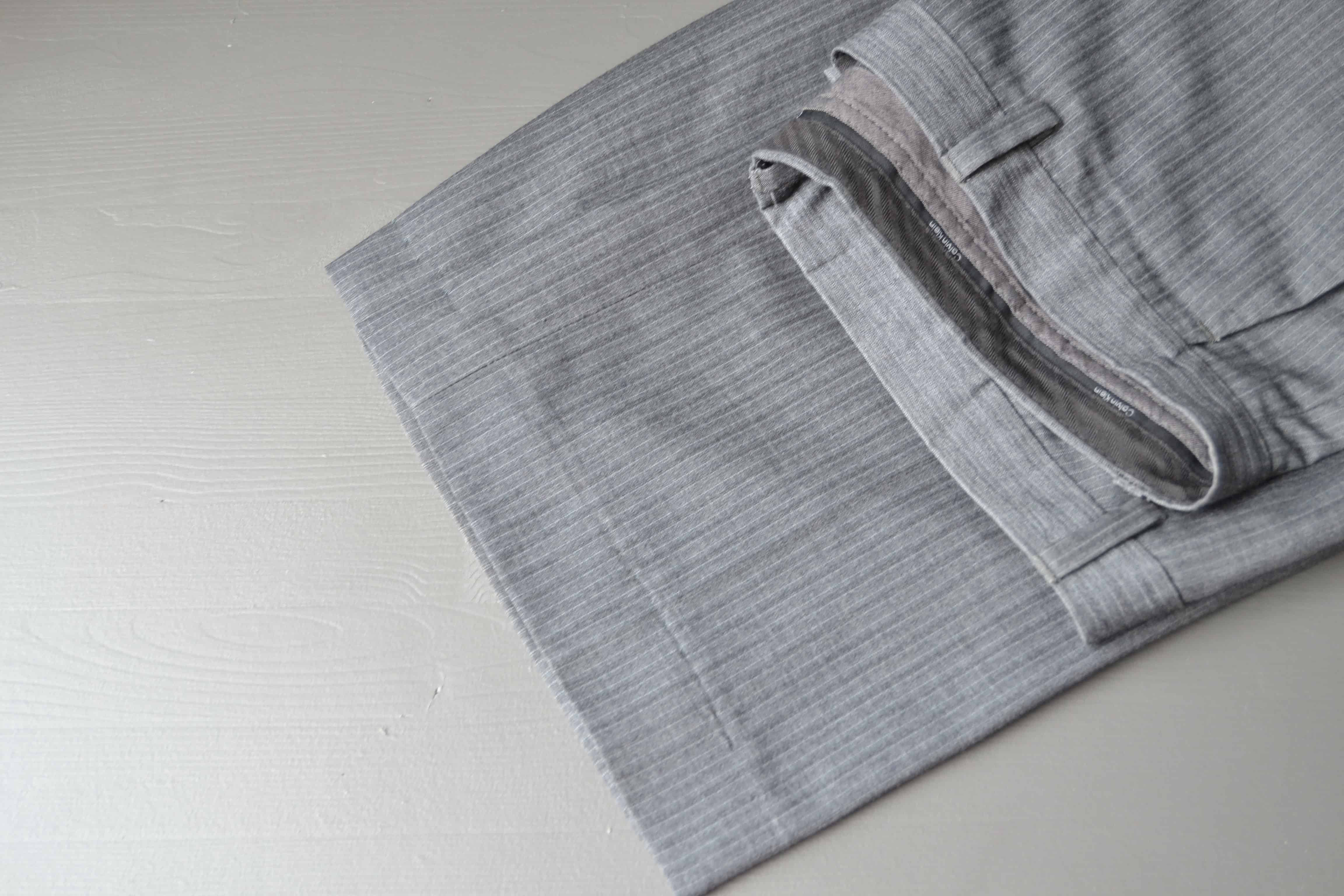 How to Fix a Busted Hem on a Pair of Pants