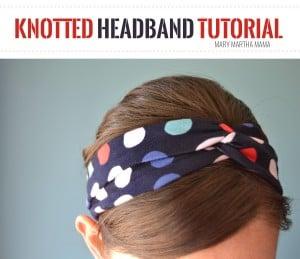 knotted headband 14 pin