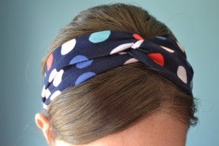 knotted headband 16