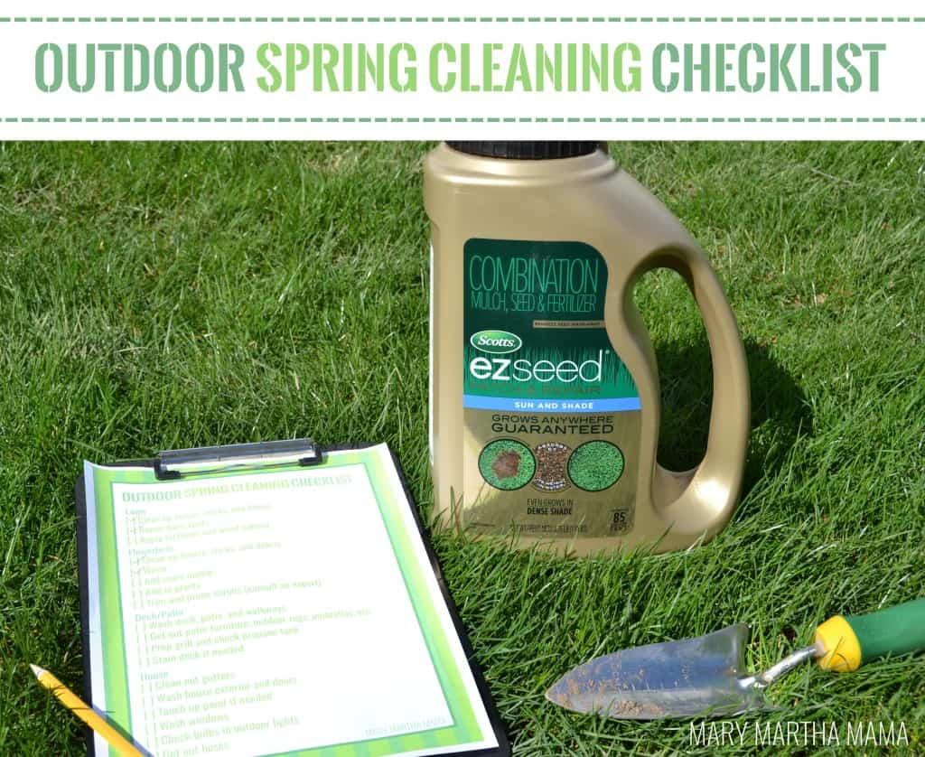 outdoor spring cleaning checklist 4