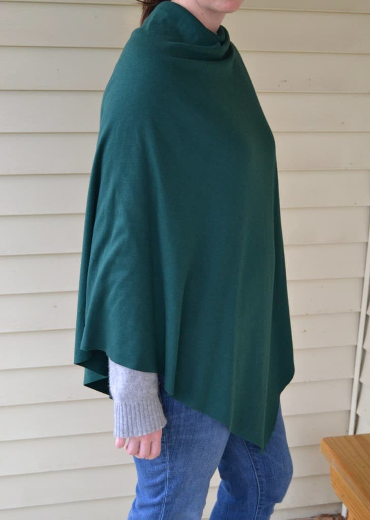 Easy DIY Poncho You Can Sew in Minutes – Mary Martha Mama