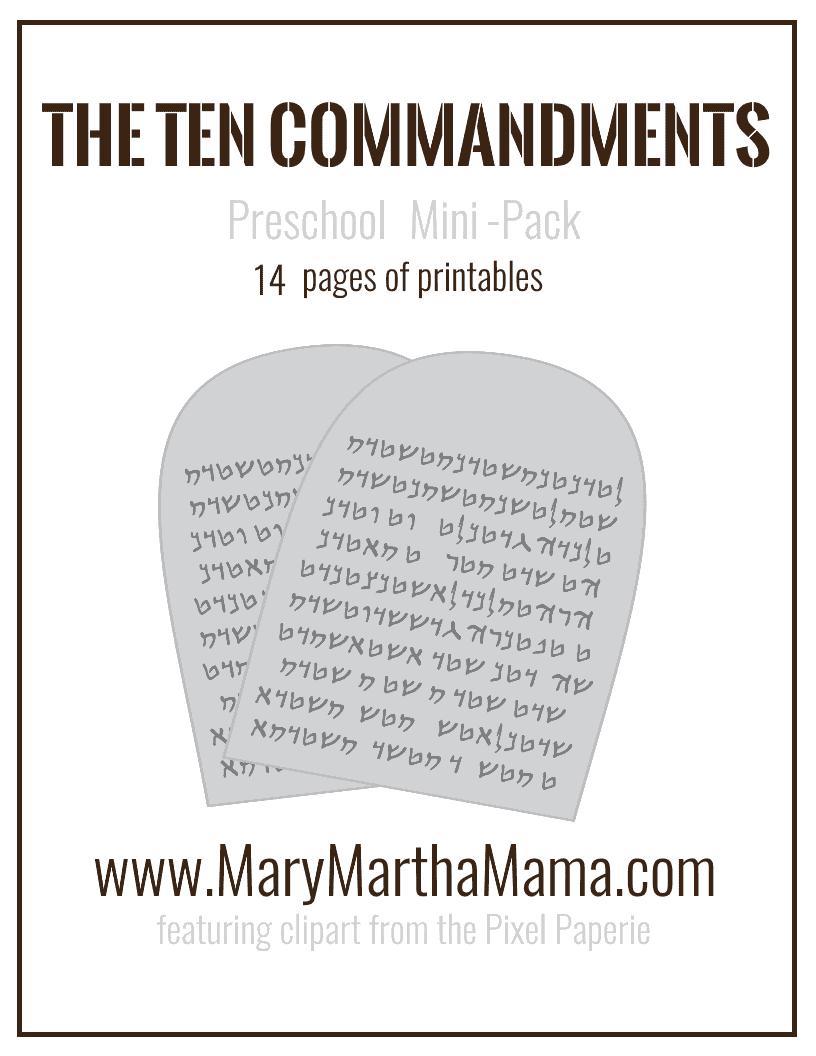 preschool printables archives u2013 mary martha mama