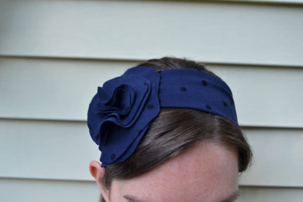 floppy flower headband 2