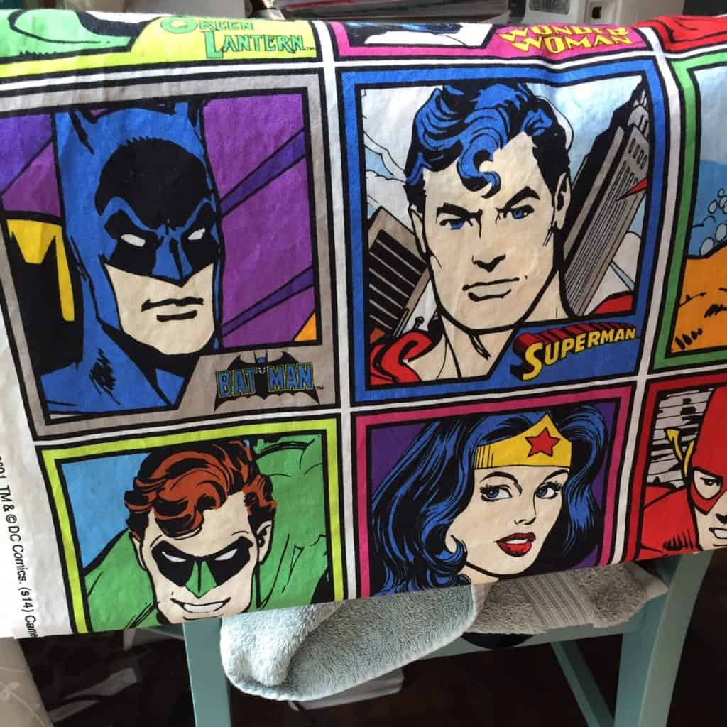 super hero fabric