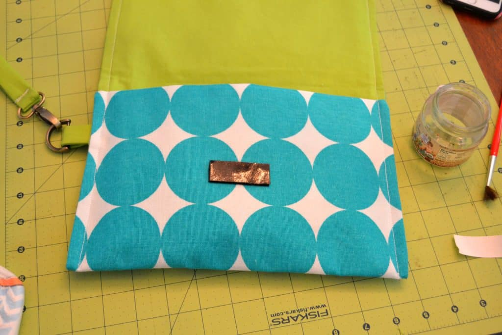 wristlet clutch tutorial 20