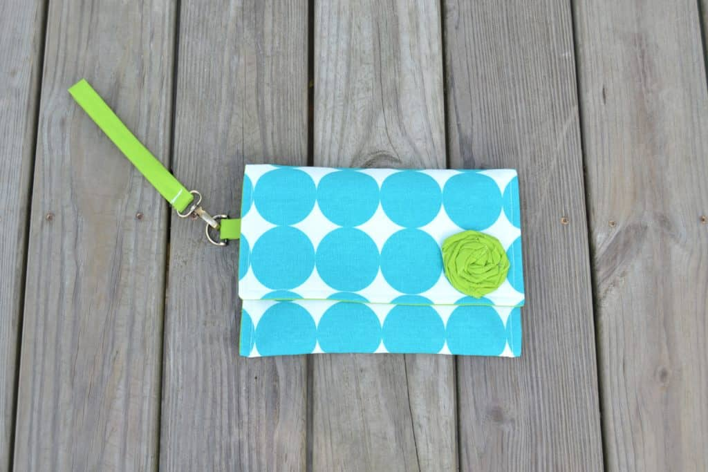 wristlet clutch tutorial 26