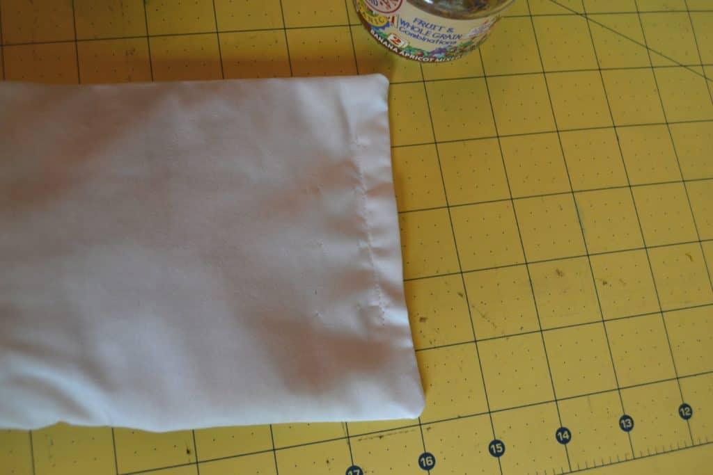 diy rice heat pack tutorial 13
