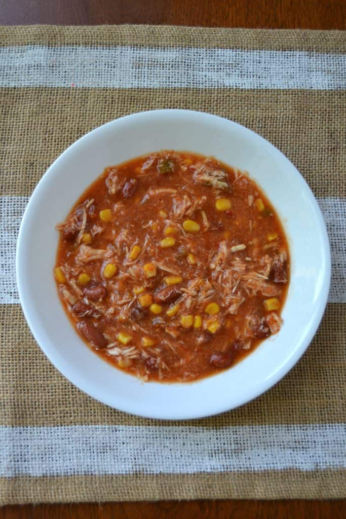 easy slow cooker chicken tortilla soup 2