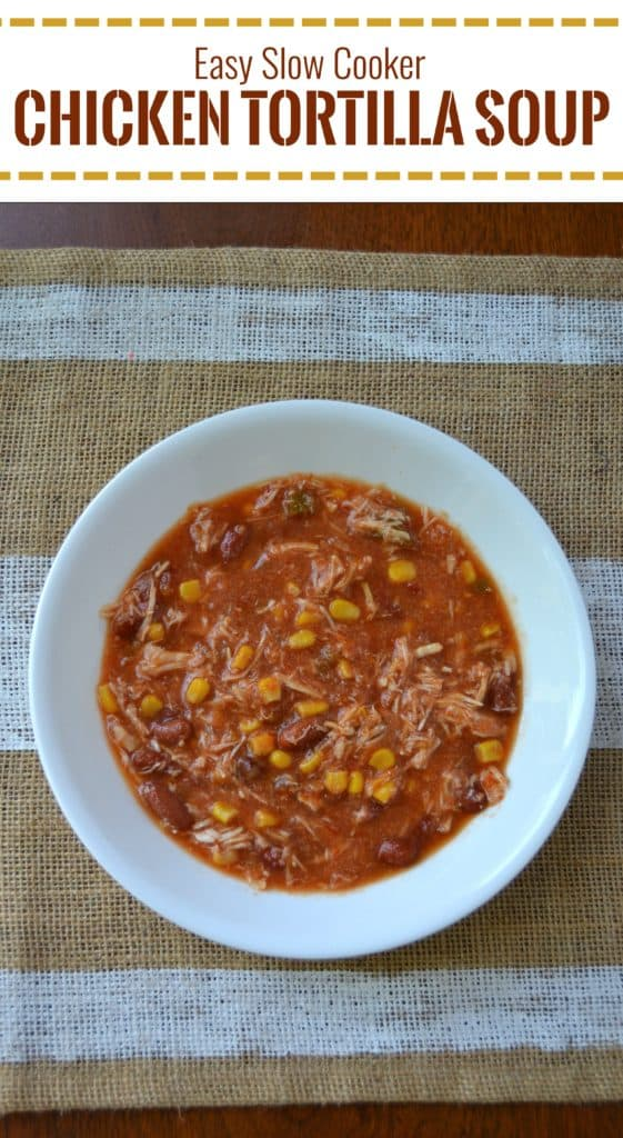 easy slow cooker chicken tortilla soup 2 pin