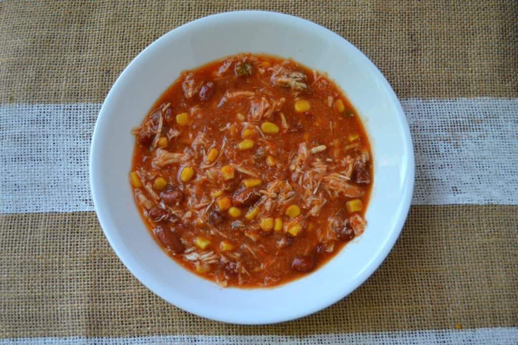 easy slow cooker chicken tortilla soup 5
