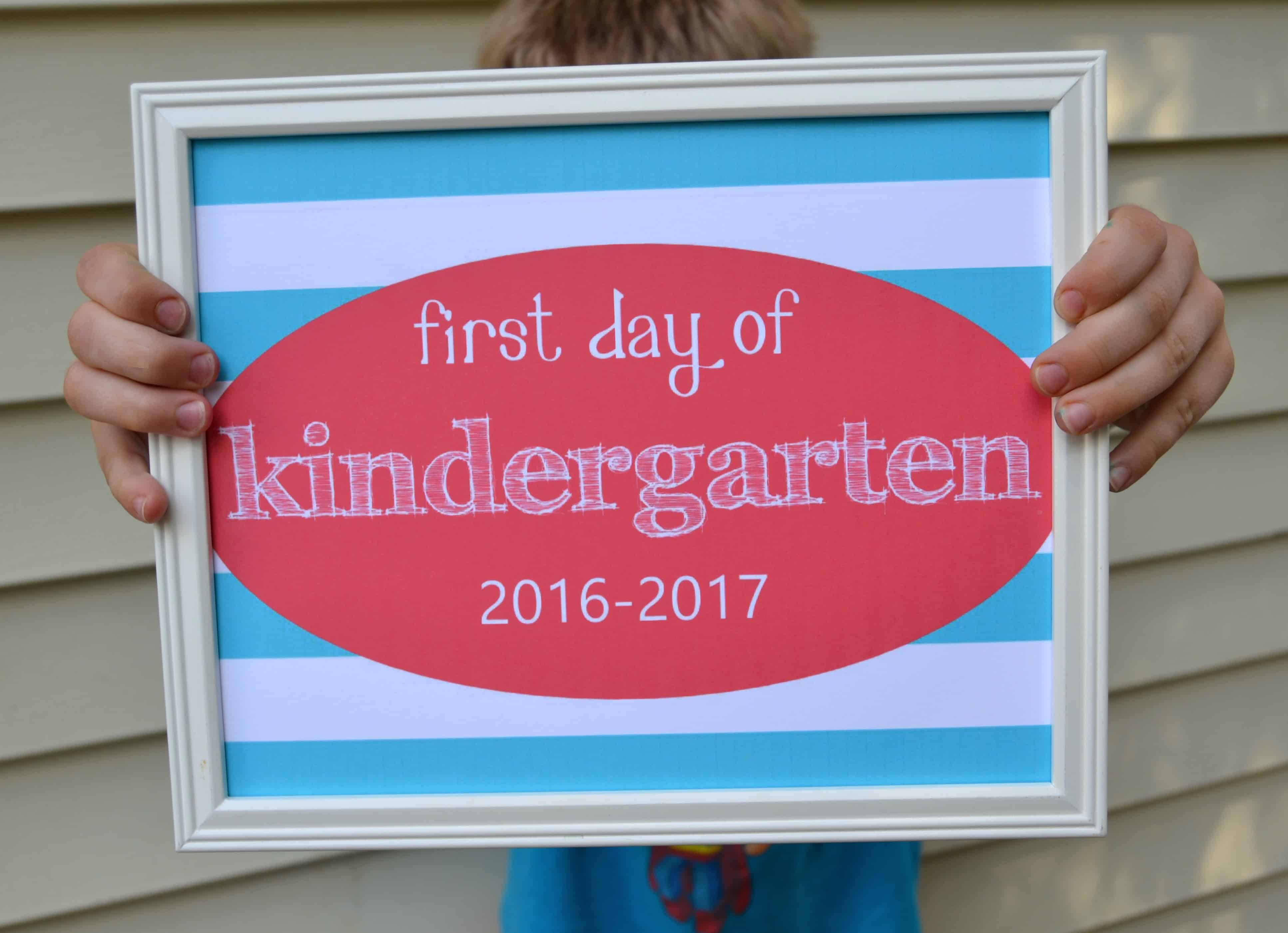 first day of school 2016 sign pic