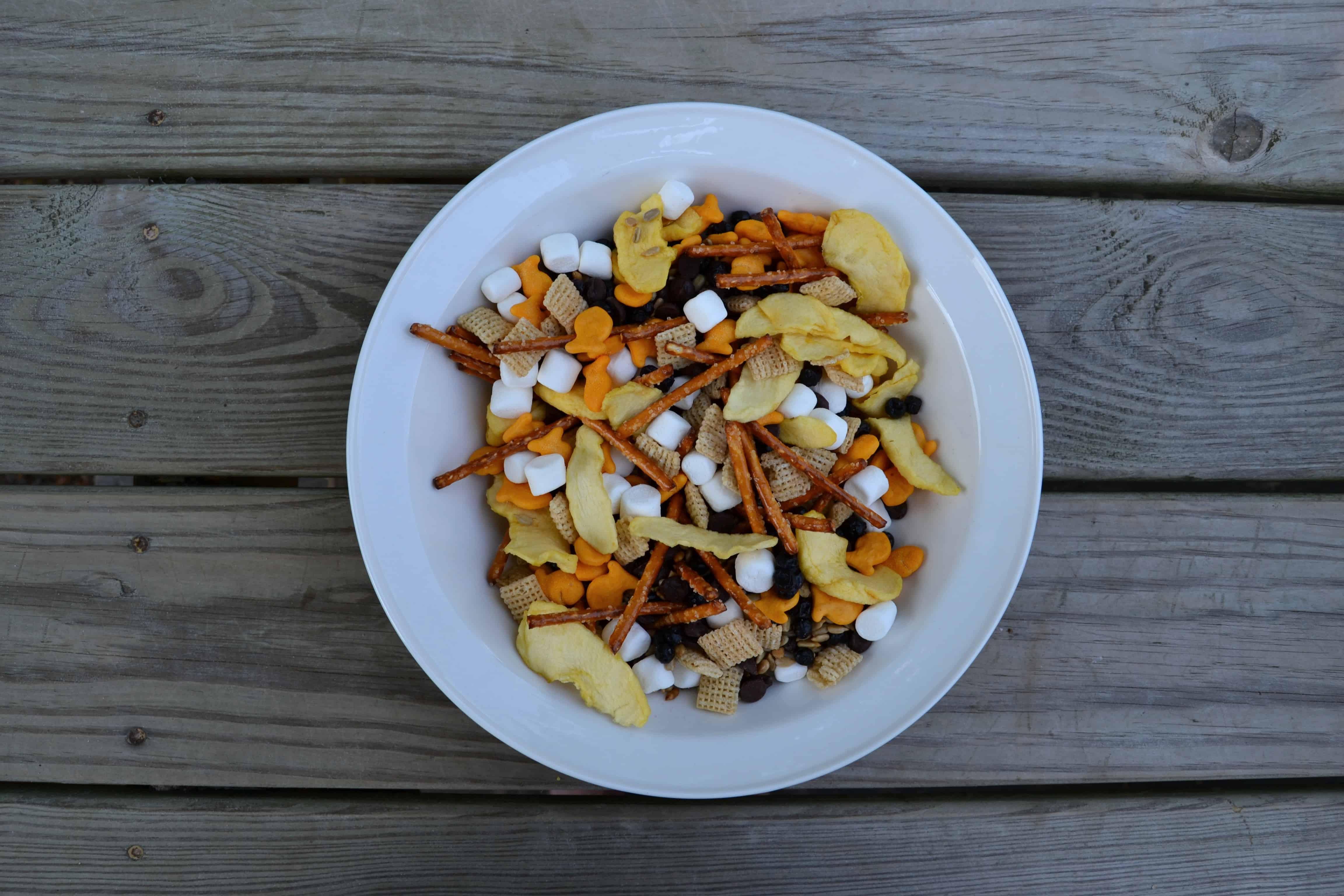 Goldfish Trail Mix Recipe