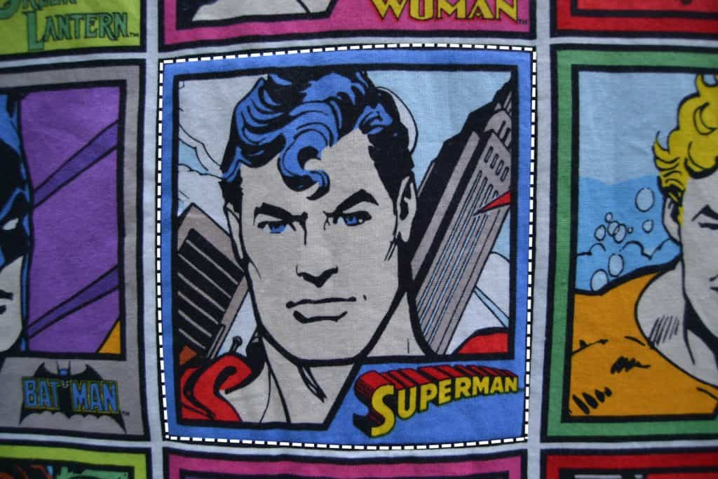super friends blanket 10
