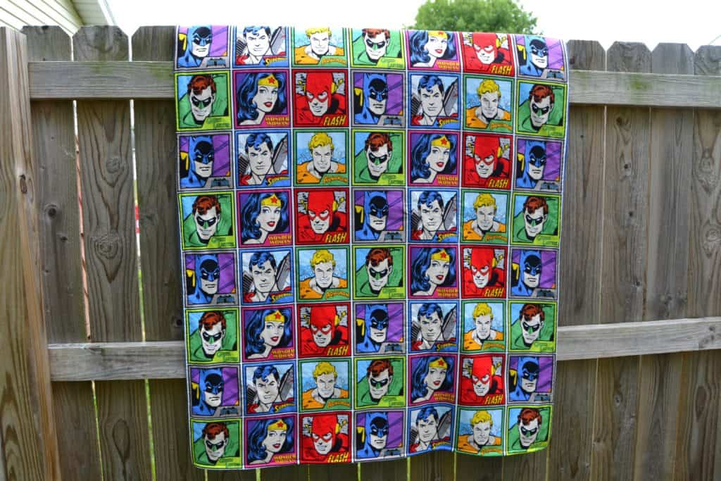super friends blanket 14