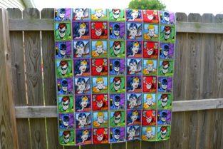 super friends blanket 14