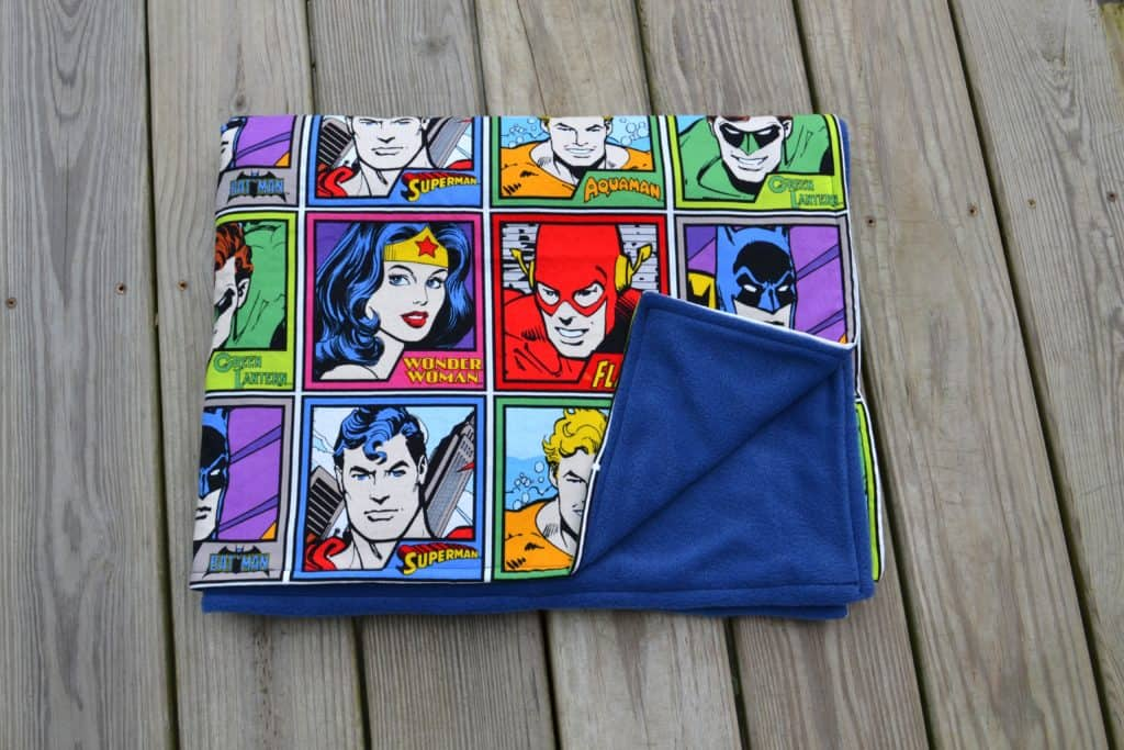 super friends blanket 15
