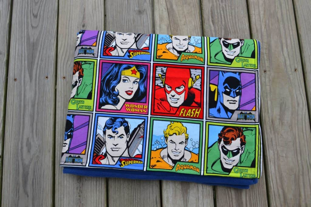 super friends blanket 16