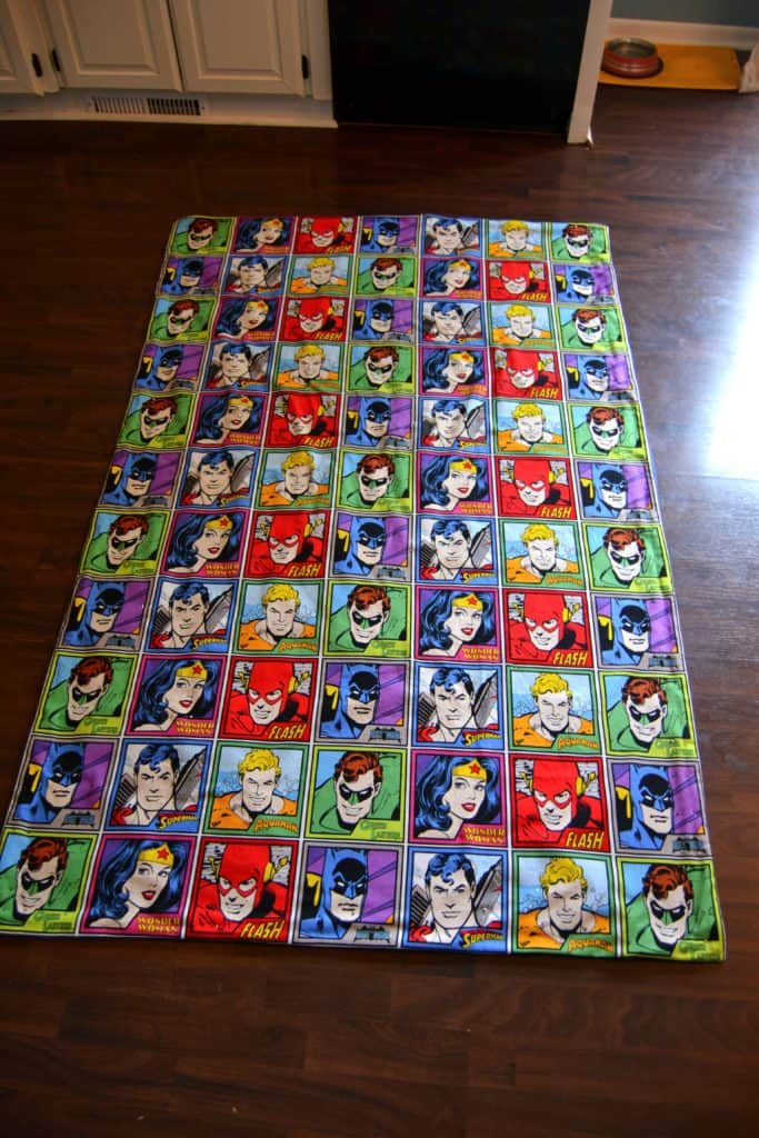 super friends blanket 9