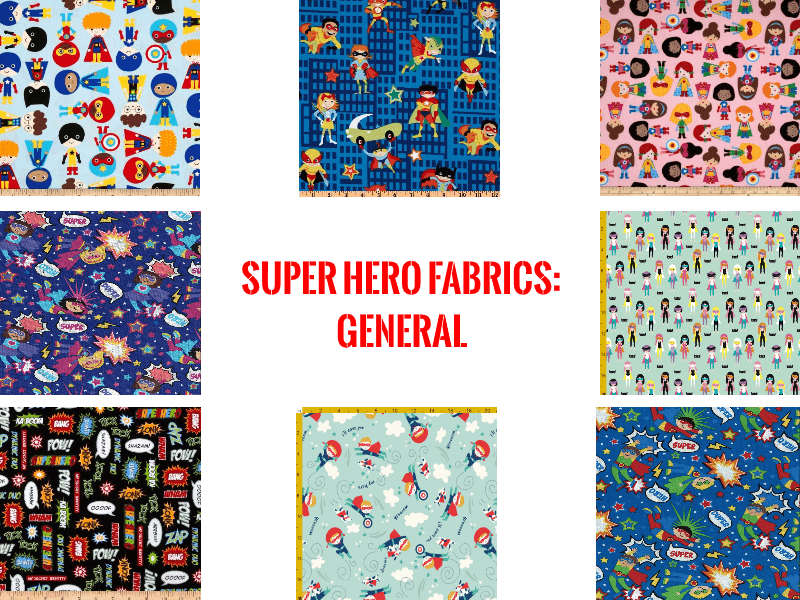 super hero fabrics general