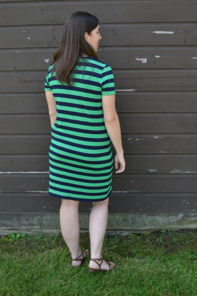 t shirt dress tutorial 2