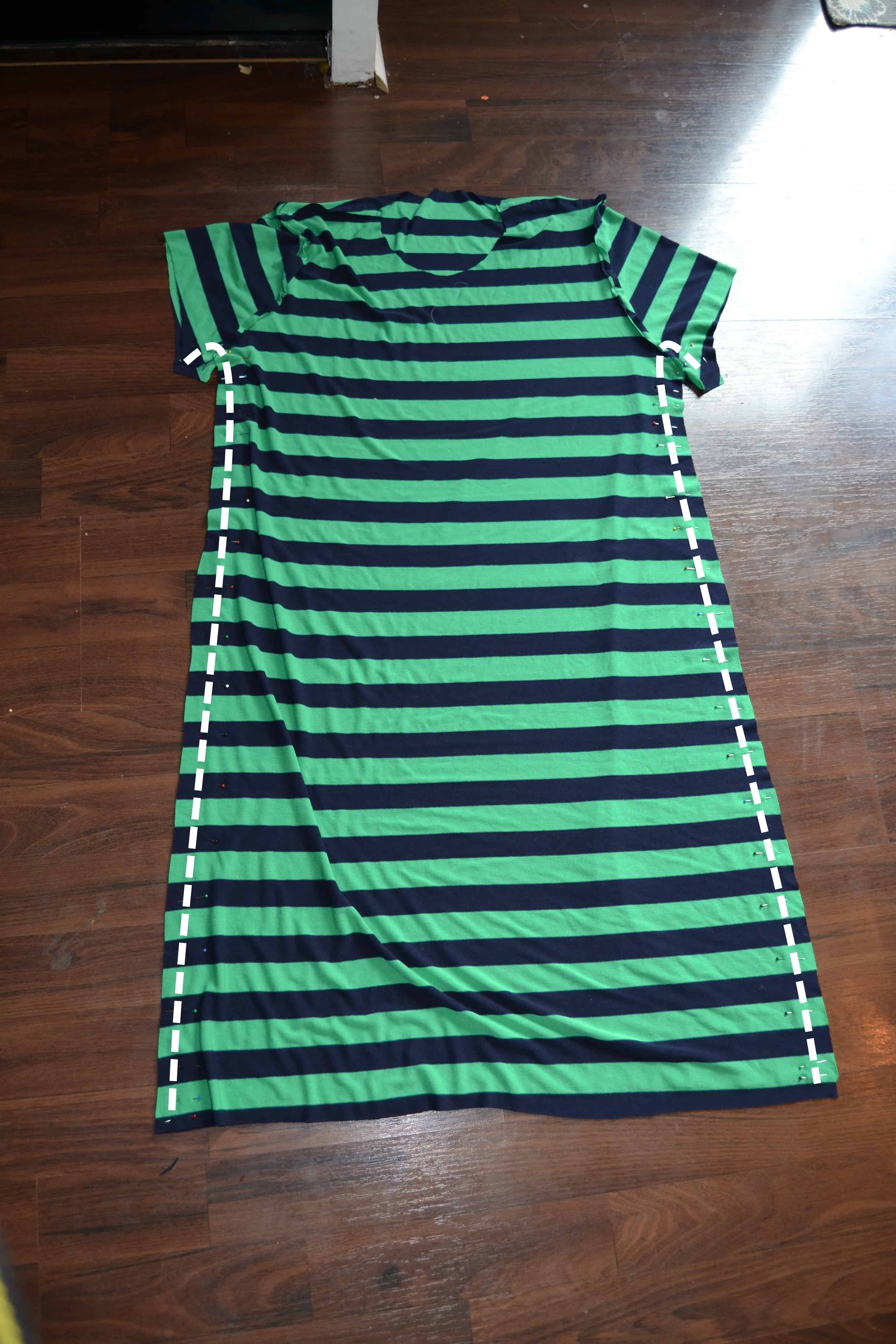 Unique Shirt Dress Tutorial  Check It Out To Learn How To Turn Any Shirt