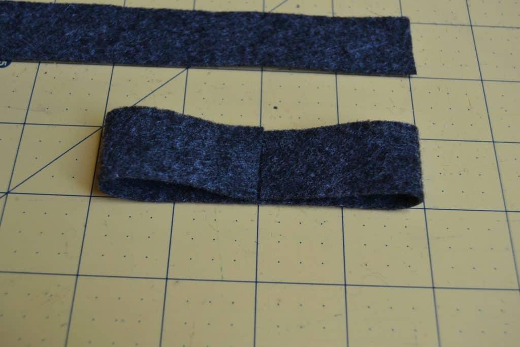 double felt bow headband 4