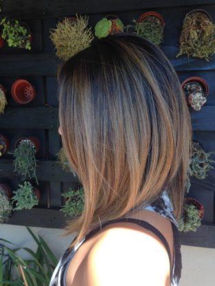 hair cut lob