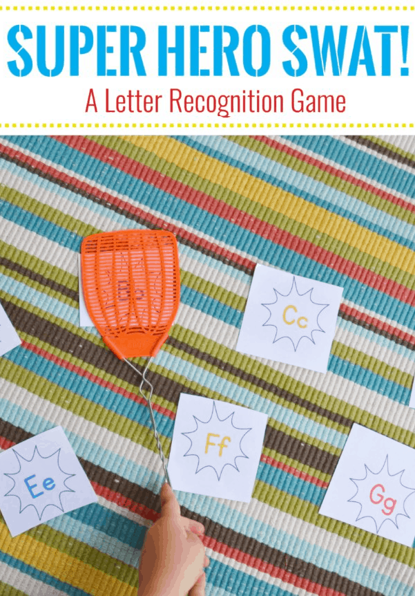 letter learning game