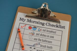 morning routine visual schedule 3