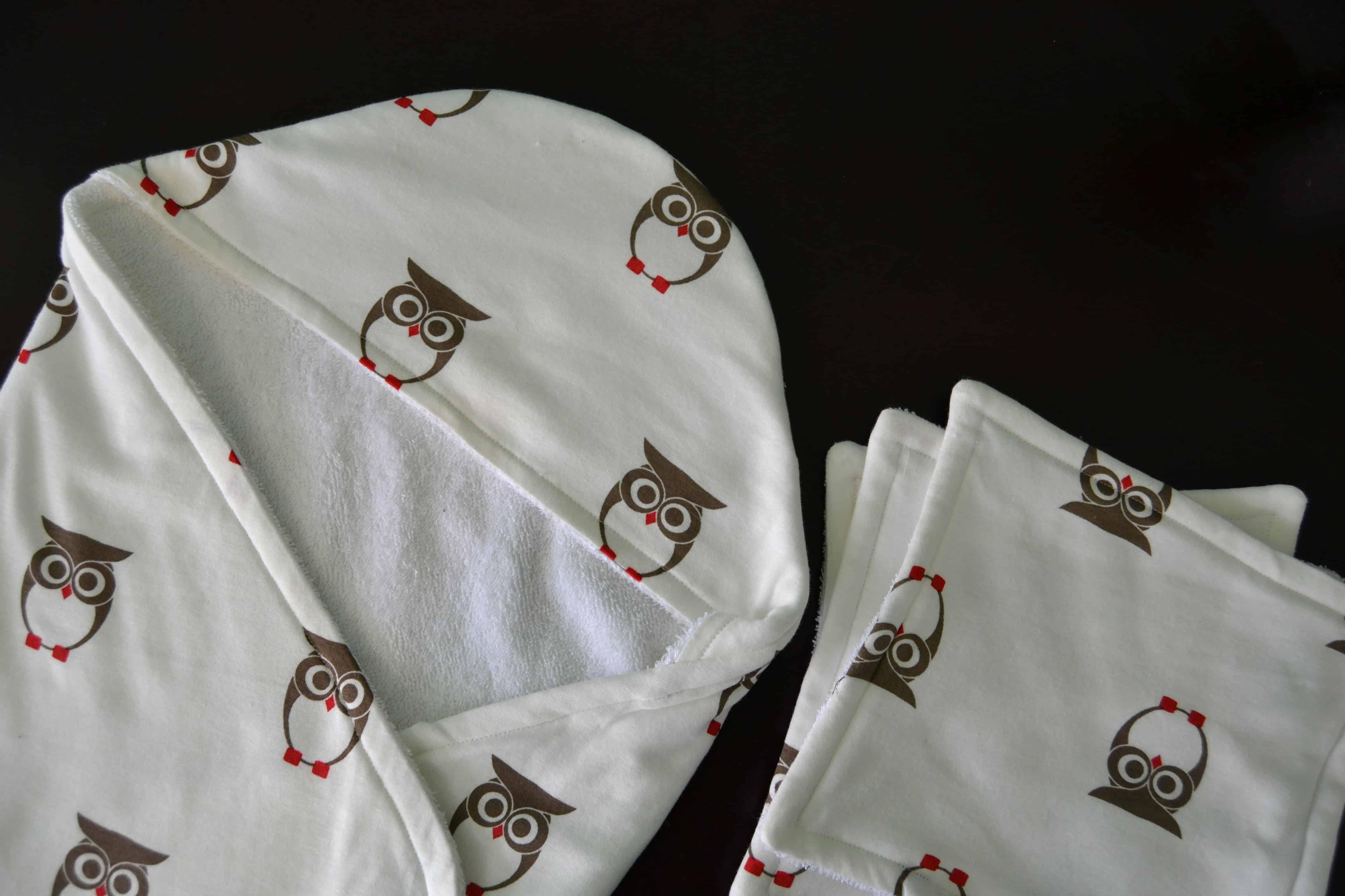Hooded Baby Towel Gift Set Tutorial