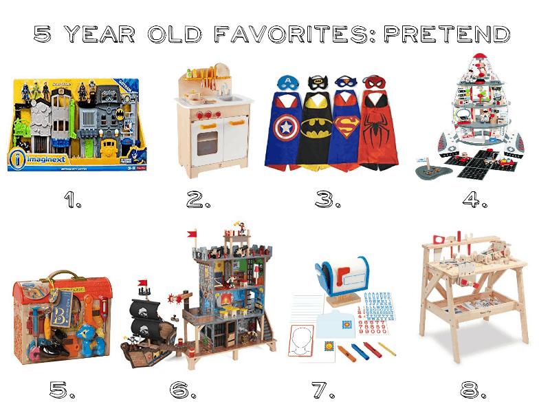 Gift Guide For 5 Year Old Boys