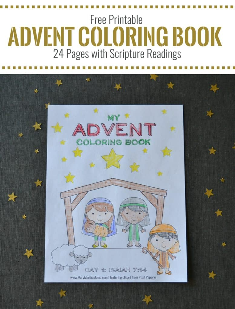 advent coloring pages crafts - photo#32