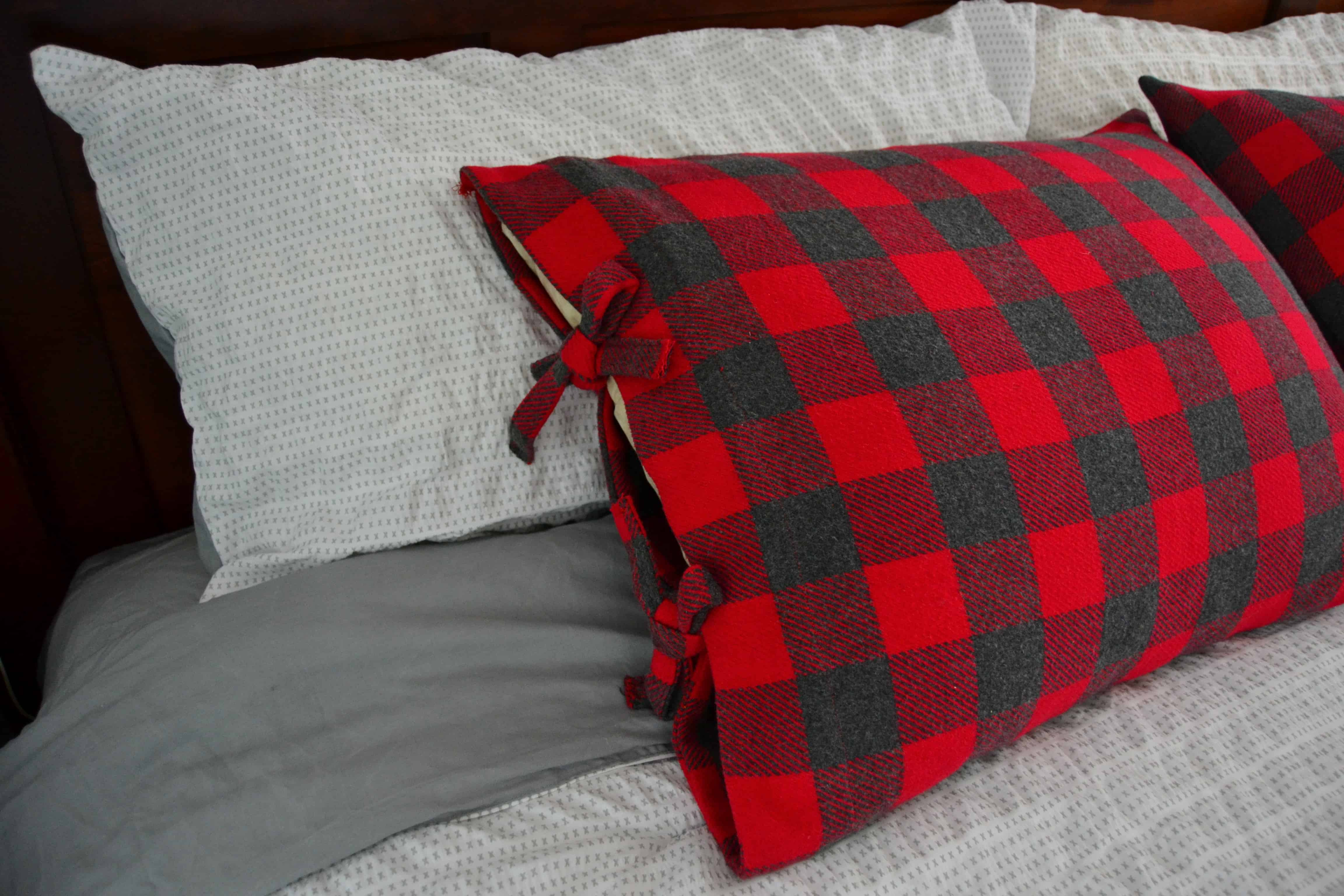Pillowcase Tutorial Bed Pillow Case With Ties Mary