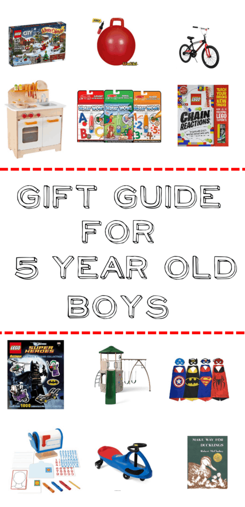 Gift Guide for 5 Year Old Boys – Mary Martha Mama