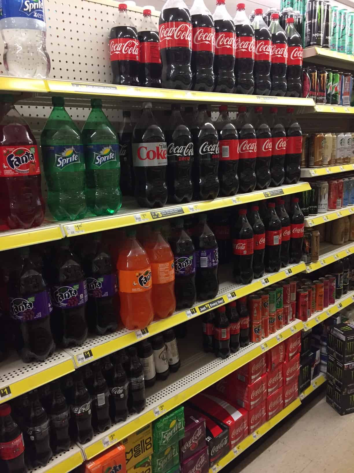 dg soda aisle