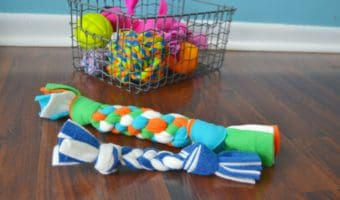 DIY Fleece Dog Toy Tutorial