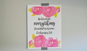 Scripture Printables