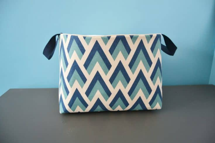 Fabric Basket Tutorial Make Storage Baskets Quickly Mary Martha Mama