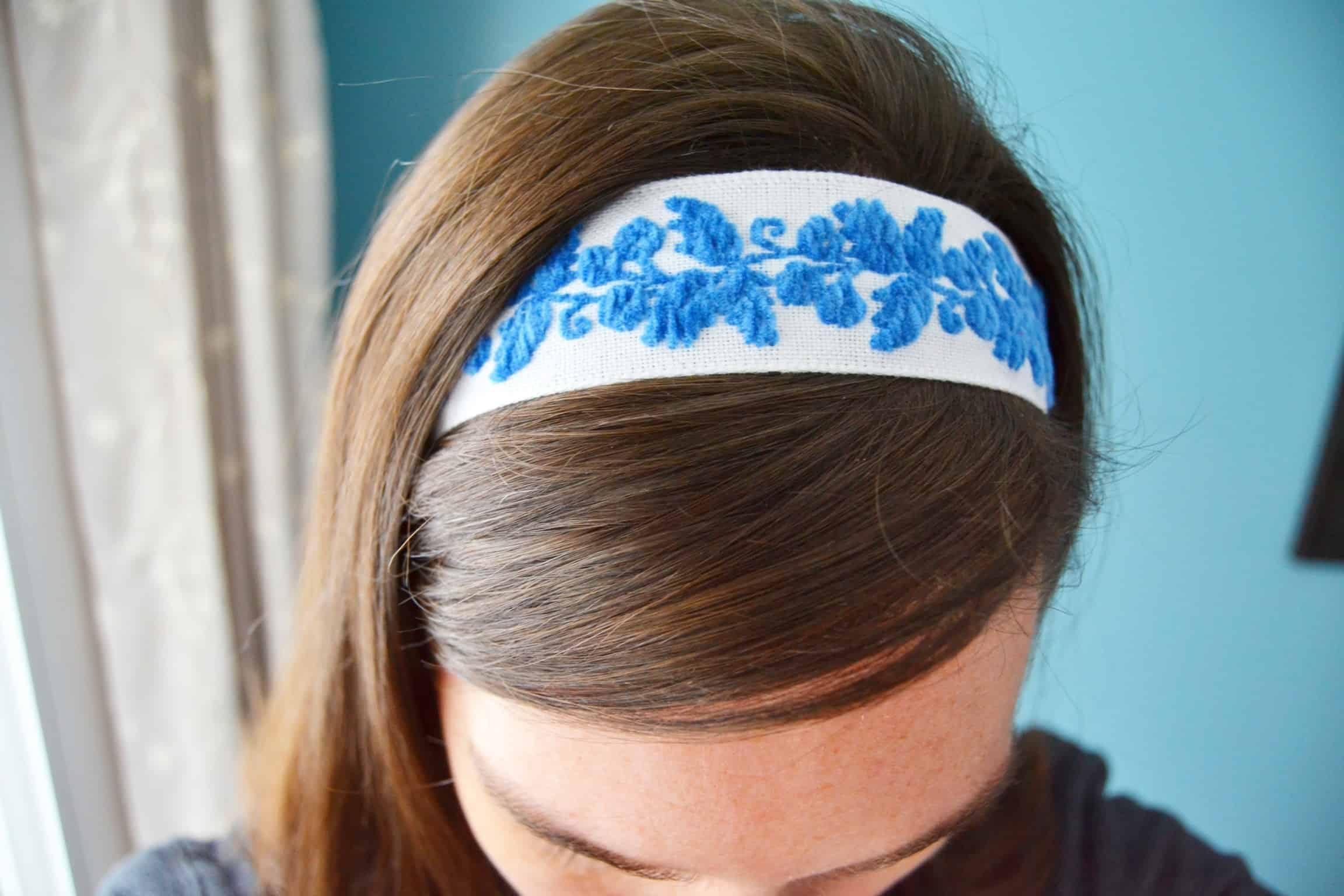 DIY Headbands No Sew Tutorial