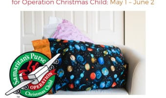 Pillowcase Sew-a-thon for Operation Christmas Child