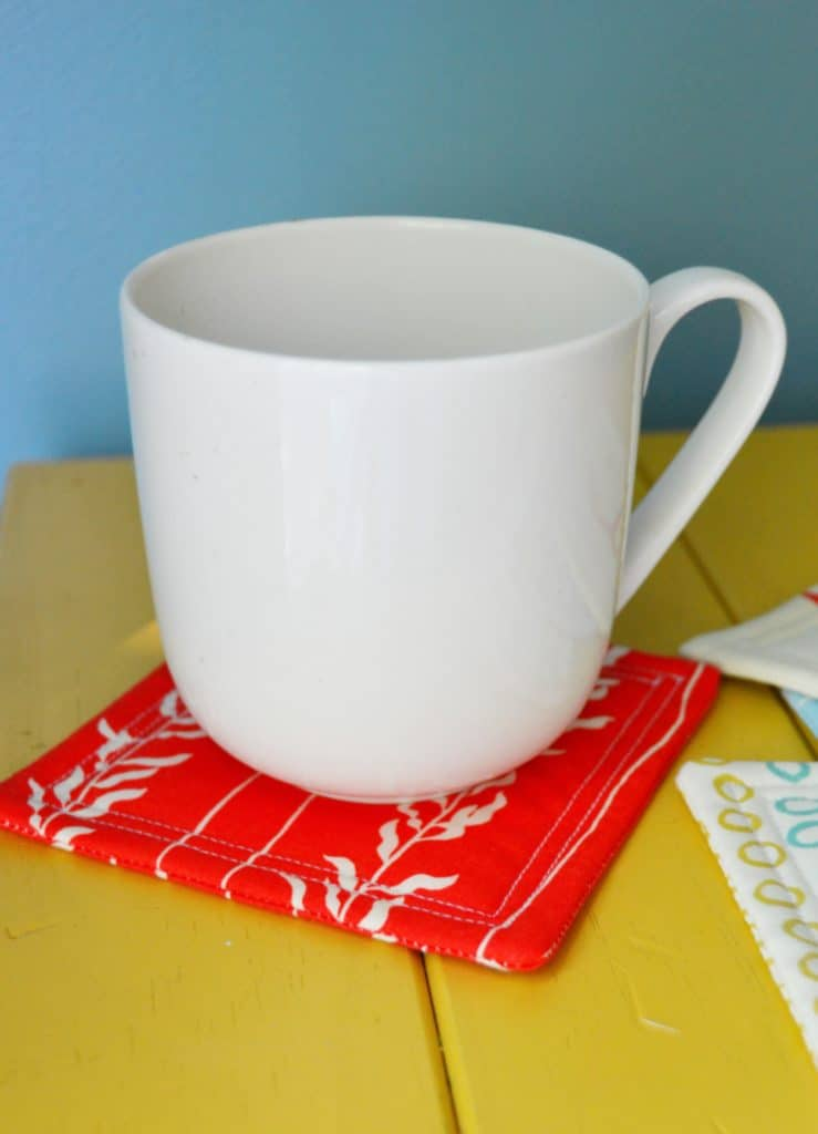 how to sew coasters