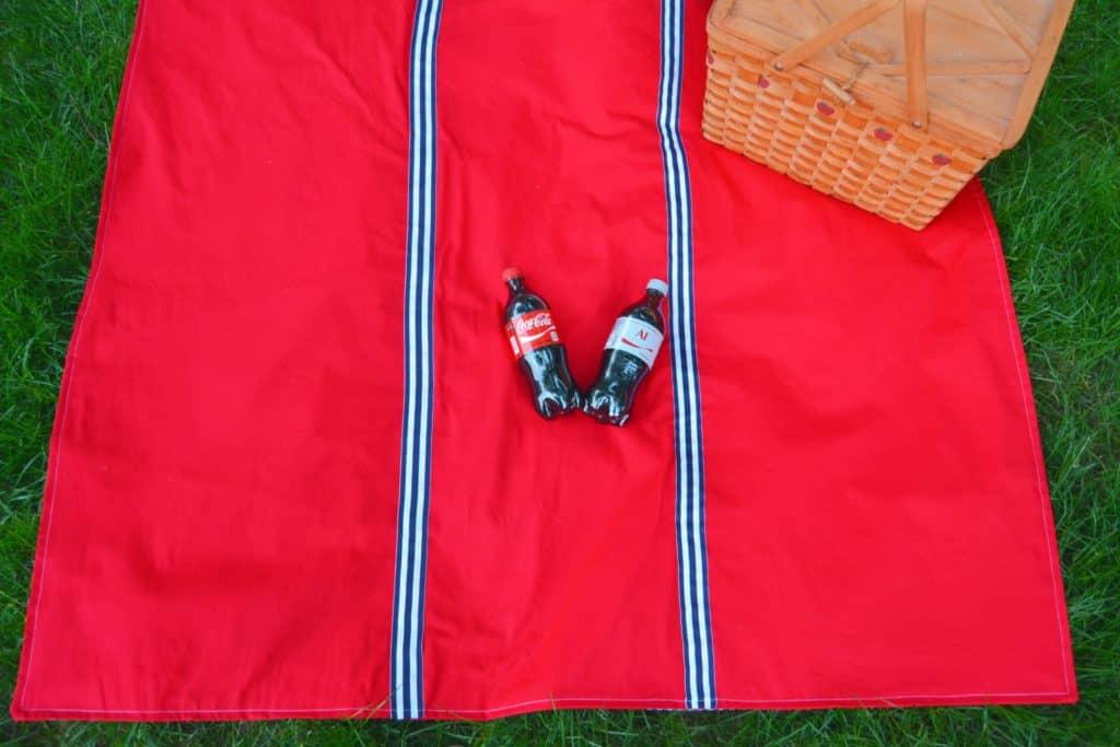 Waterproof Picnic Blanket Tutorial Mary Martha Mama