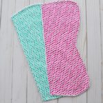 Burp Cloth Tutorial & Pattern [Half Contour]