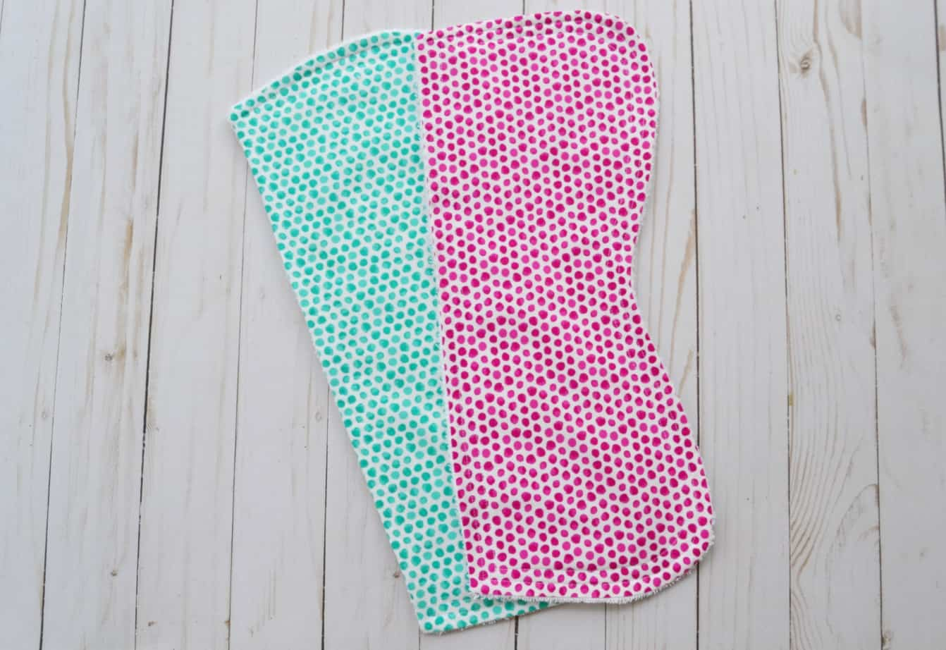 Burp cloth tutorial pattern half contour mary martha mama to make your own burp cloths you will need baditri Image collections