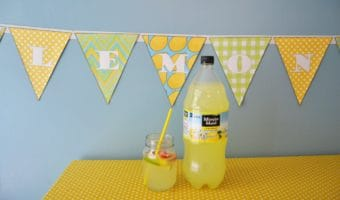 Printable Lemonade Banner