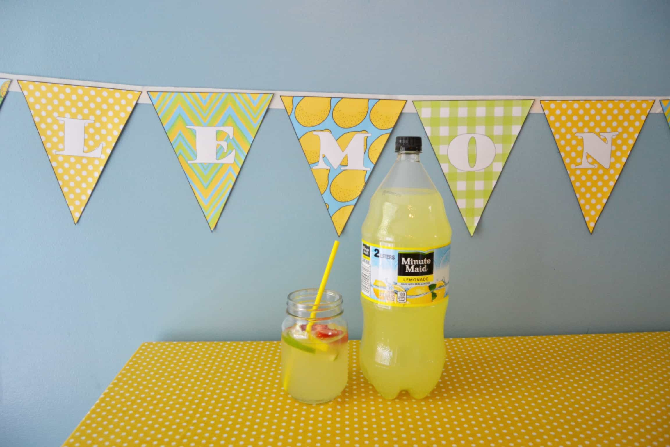 Printable Lemonade Banner [Great Lemonade Sign] – Mary ... Lemonade Sign Ideas