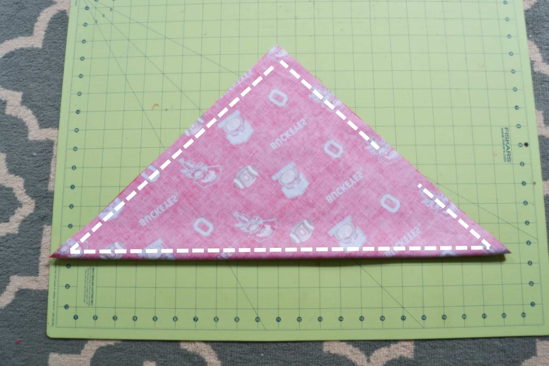 dog bandana template - diy dog bandana mary martha mama