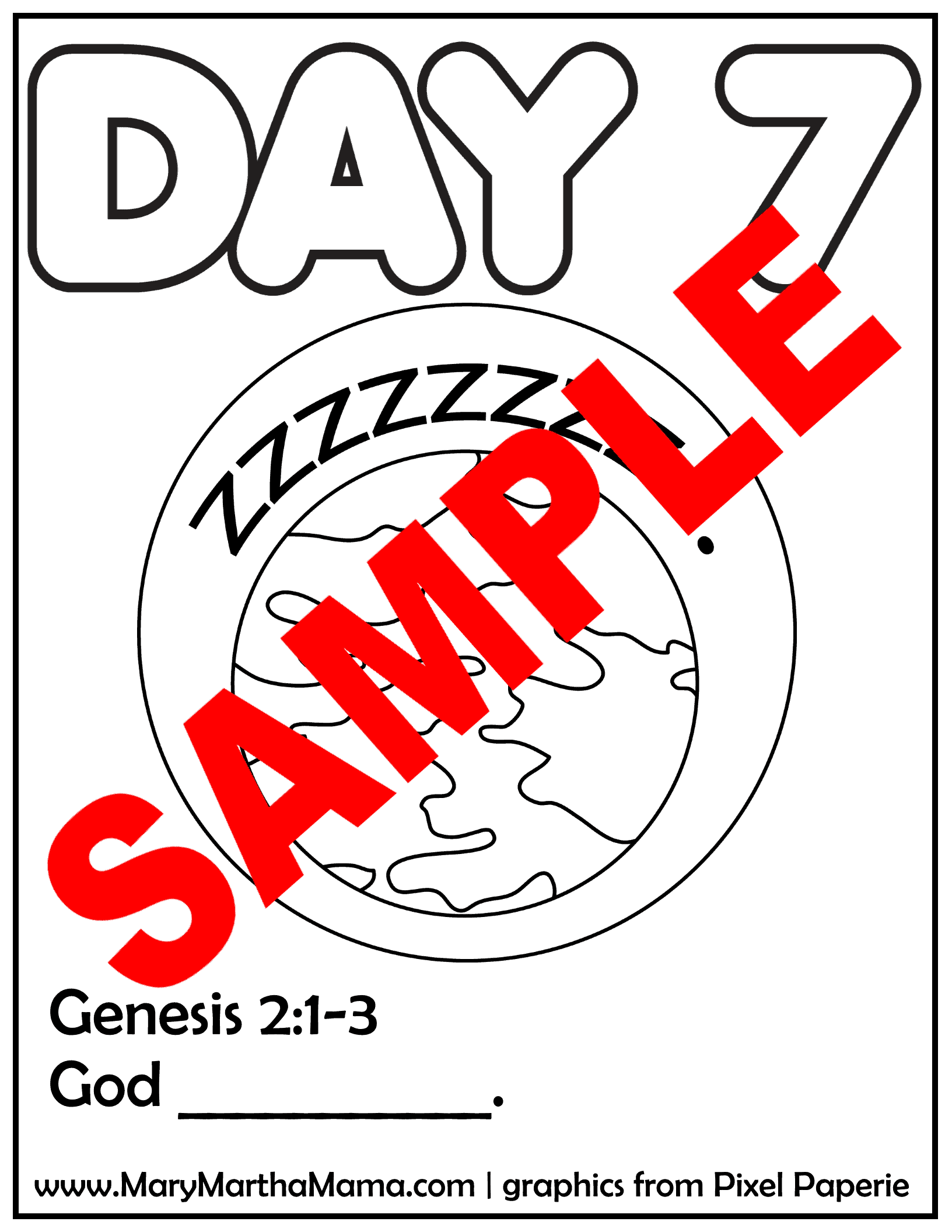 day 7 page