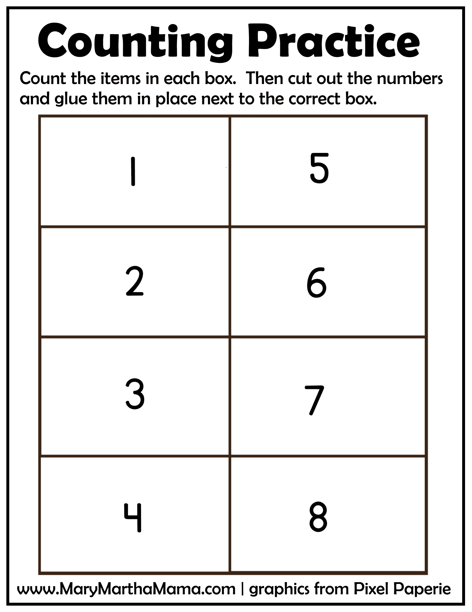creation counting practice page 2