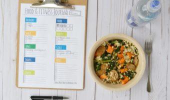 Healthy Mama 2.0 [Week 5] Food & Fitness Journal